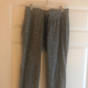 Heather gray drift sweat pants